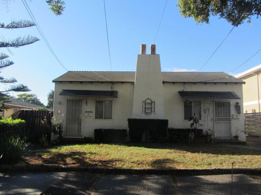 Property photo for 718-720 W Arrellaga St Santa Barbara, California 93101 - 15-3341
