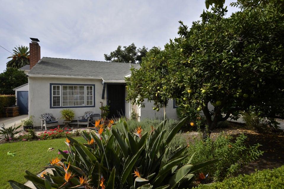 Property photo for 411 N Alisos St Santa Barbara, California 93103 - 15-3716