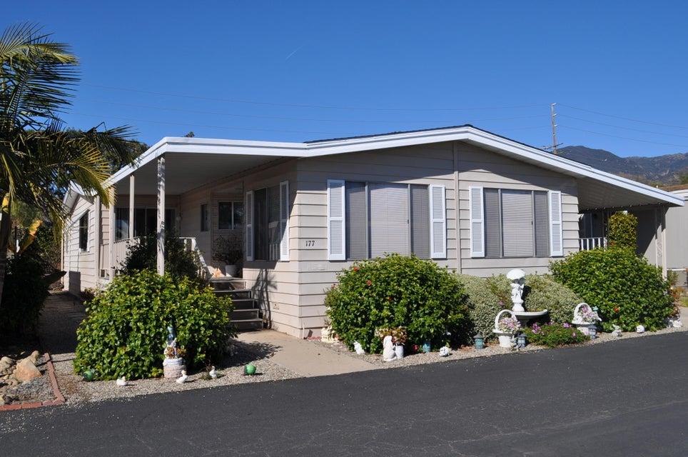 Property photo for 340 Old Mill Rd #177 Santa Barbara, California 93110 - 16-223