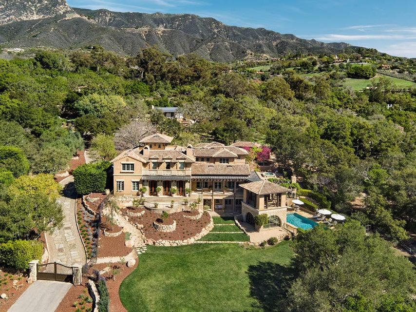 Property photo for 610 Cima Vista Ln Montecito, California 93108 - 16-820