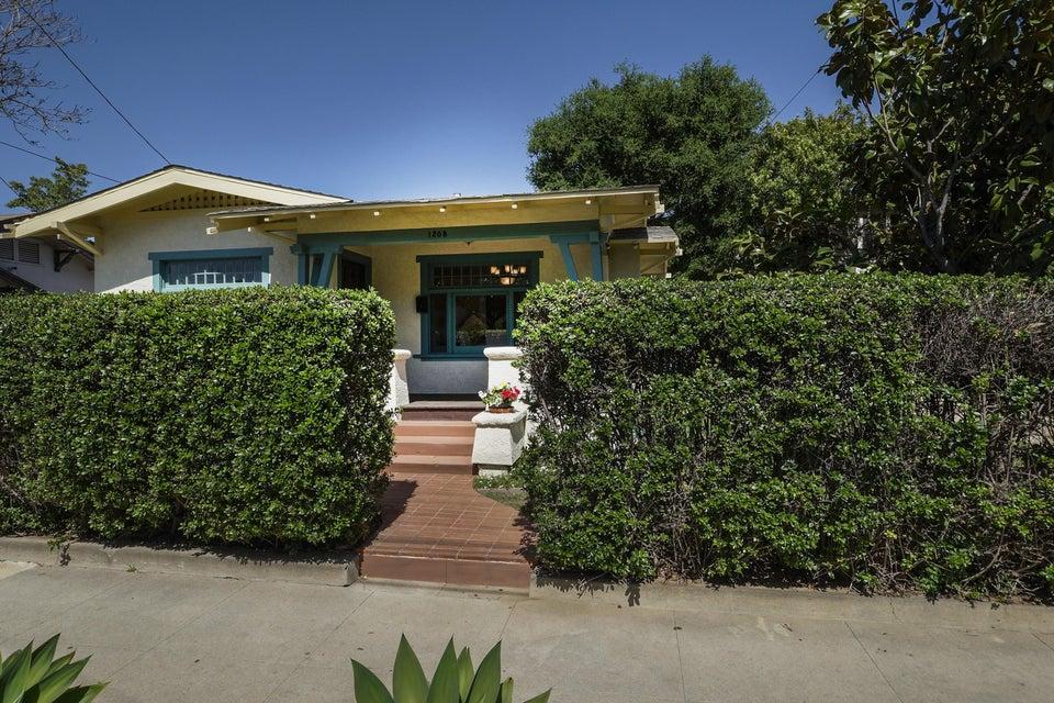 Property photo for 1208 Castillo St Santa Barbara, California 93101 - 16-1028