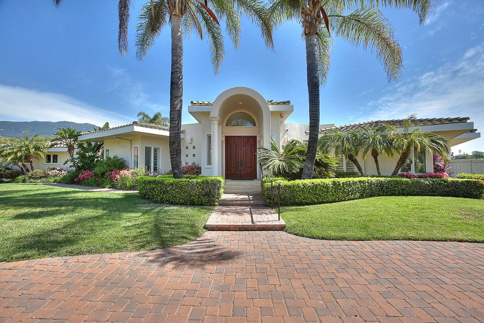 Single Family Home for Sale at 1018 Via Los Padres Santa Barbara, California,93111 United States