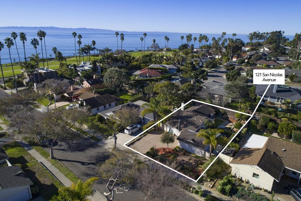 Property photo for 121 San Nicolas Ave Santa Barbara, California 93109 - 17-409