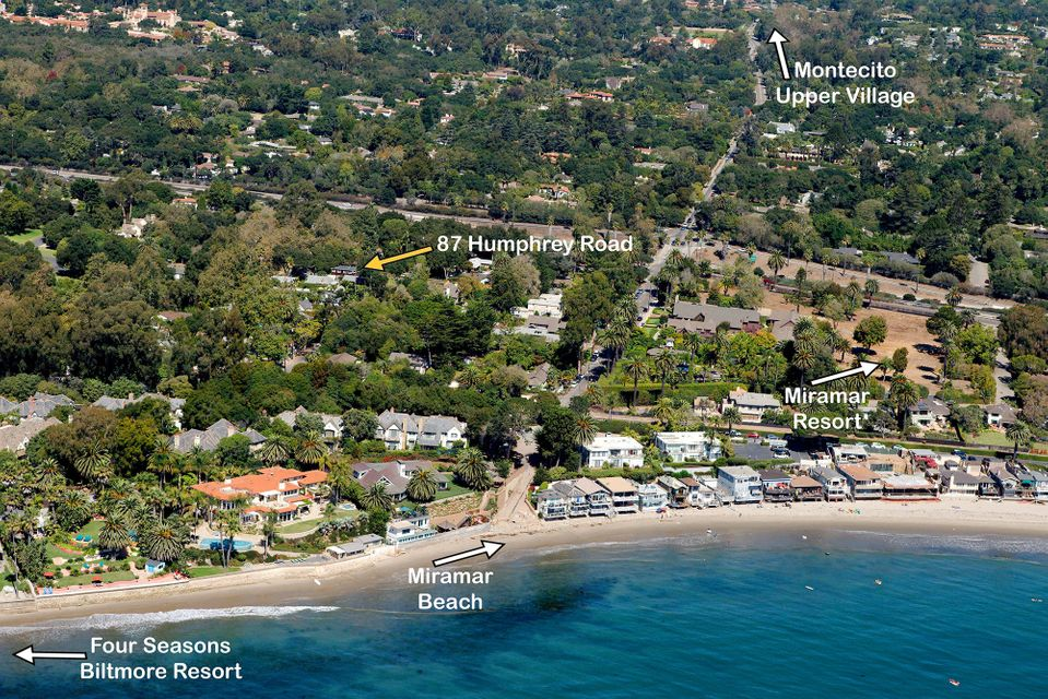 Property photo for 87 Humphrey Rd Montecito, California 93108 - 17-44