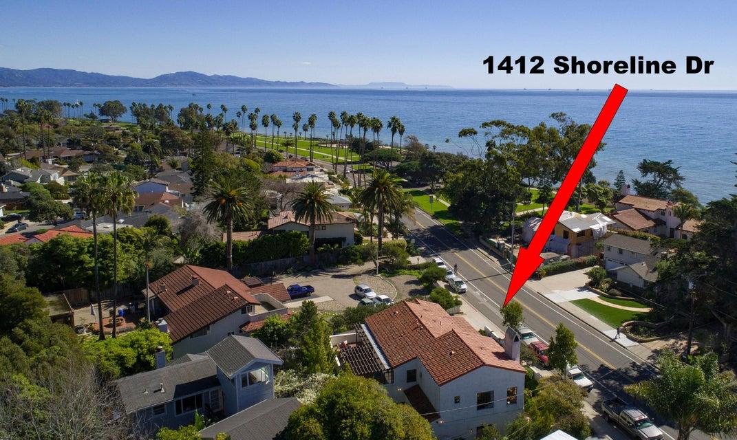 Property photo for 1412 Shoreline Dr Santa Barbara, California 93109 - 17-481