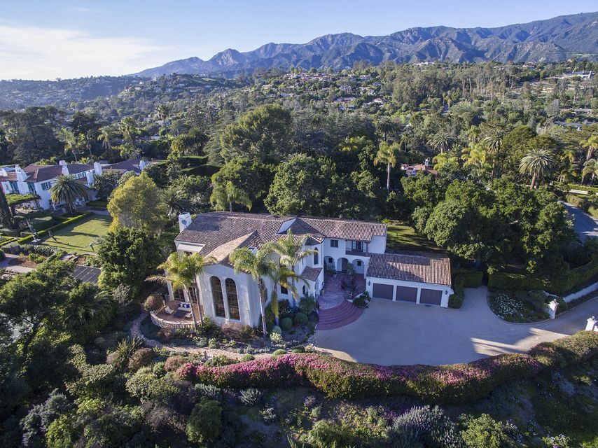 Single Family Home for Sale at 840 Cima Linda Ln Santa Barbara, California,93108 United States