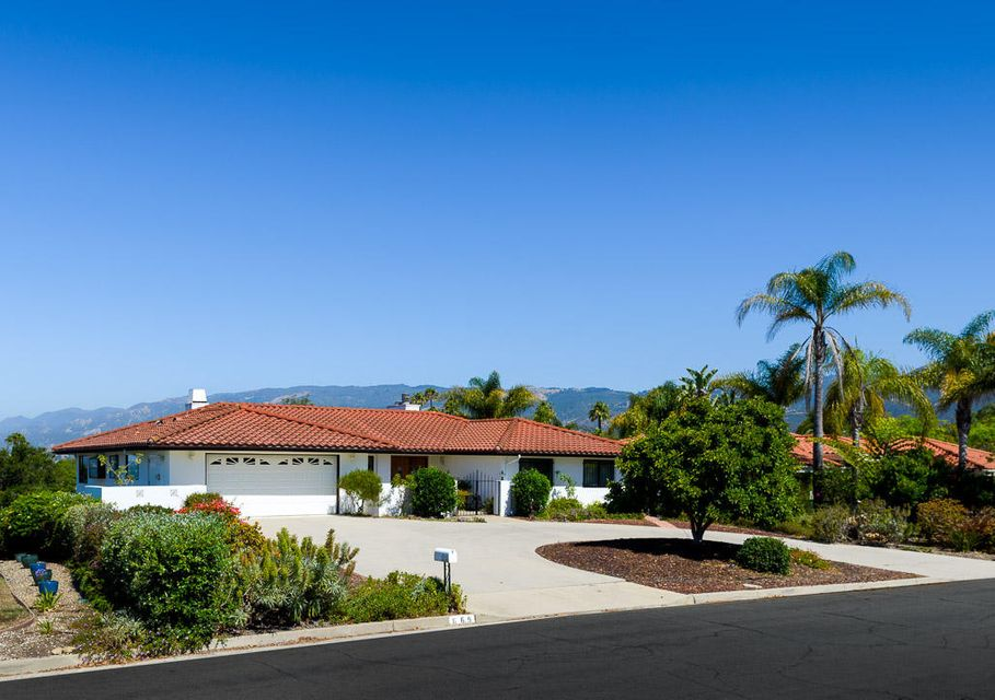 Property photo for 669 Alto Dr Santa Barbara, California 93110 - 17-2190