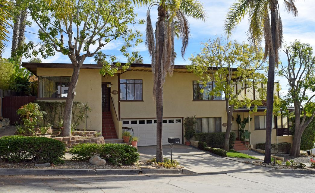 Property photo for 1416-1418 Alta Vista Rd Santa Barbara, California 93103 - 17-3845