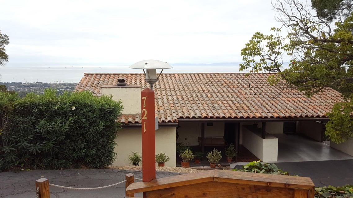 Property photo for 721 Las Alturas Rd Santa Barbara, California 93103 - 18-83