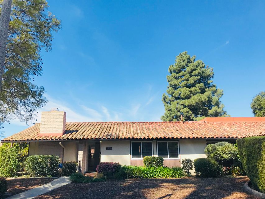 Property photo for 2730 Miradero Dr #B Santa Barbara, California 93105 - 18-1294