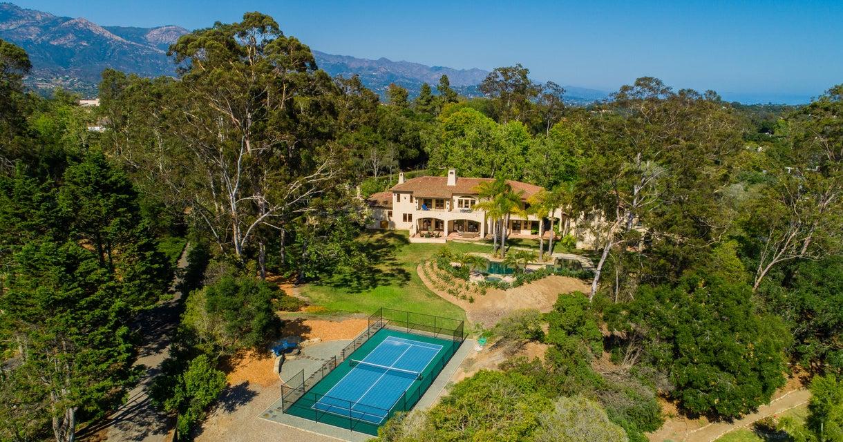 One of Santa Barbara 7 Bedroom Homes for Sale at 4501  Via Vistosa