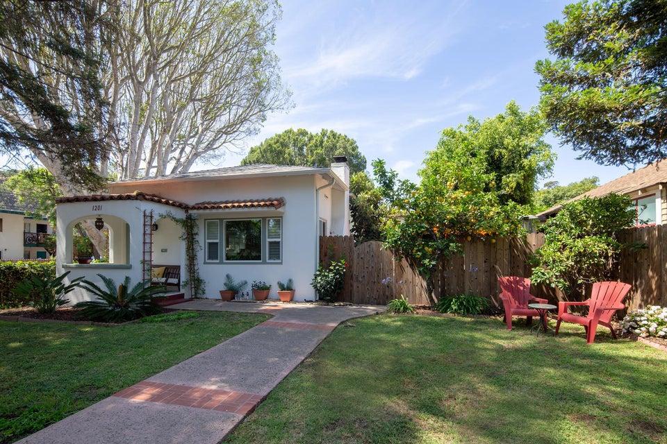 Property photo for 1201 San Andres St Santa Barbara, California 93101 - 18-2736