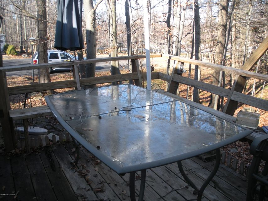 Table on Side Deck