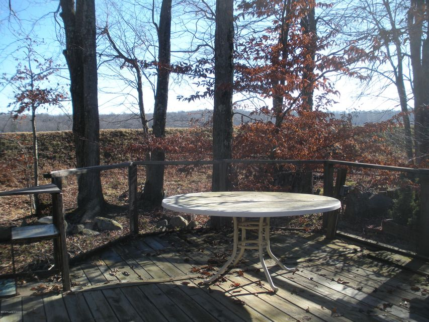 Table on Back Deck