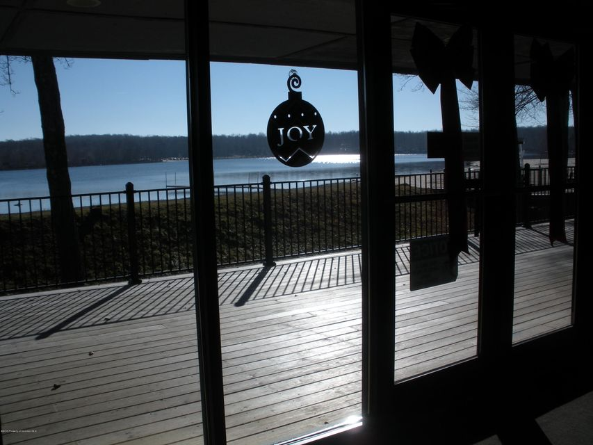 View of Eagle Lake from Inside Clubhouse