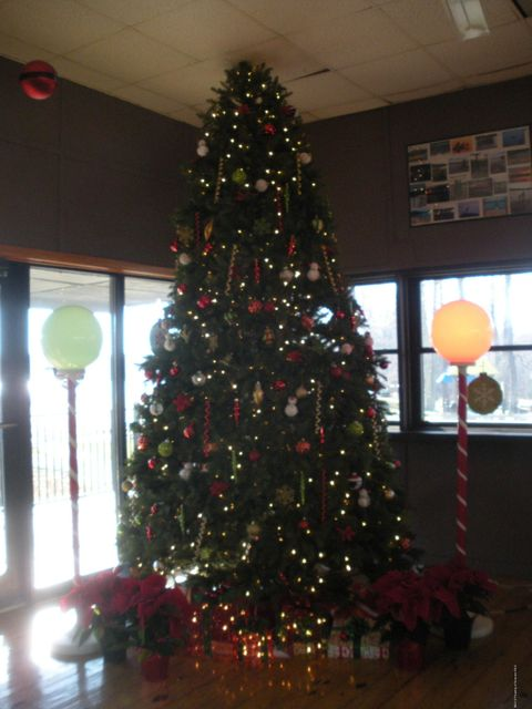 Clubhouse Christmas Tree