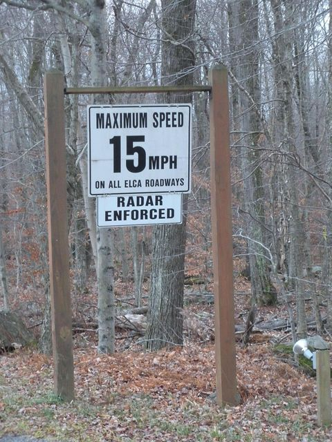 Strict Speed Limit in Community