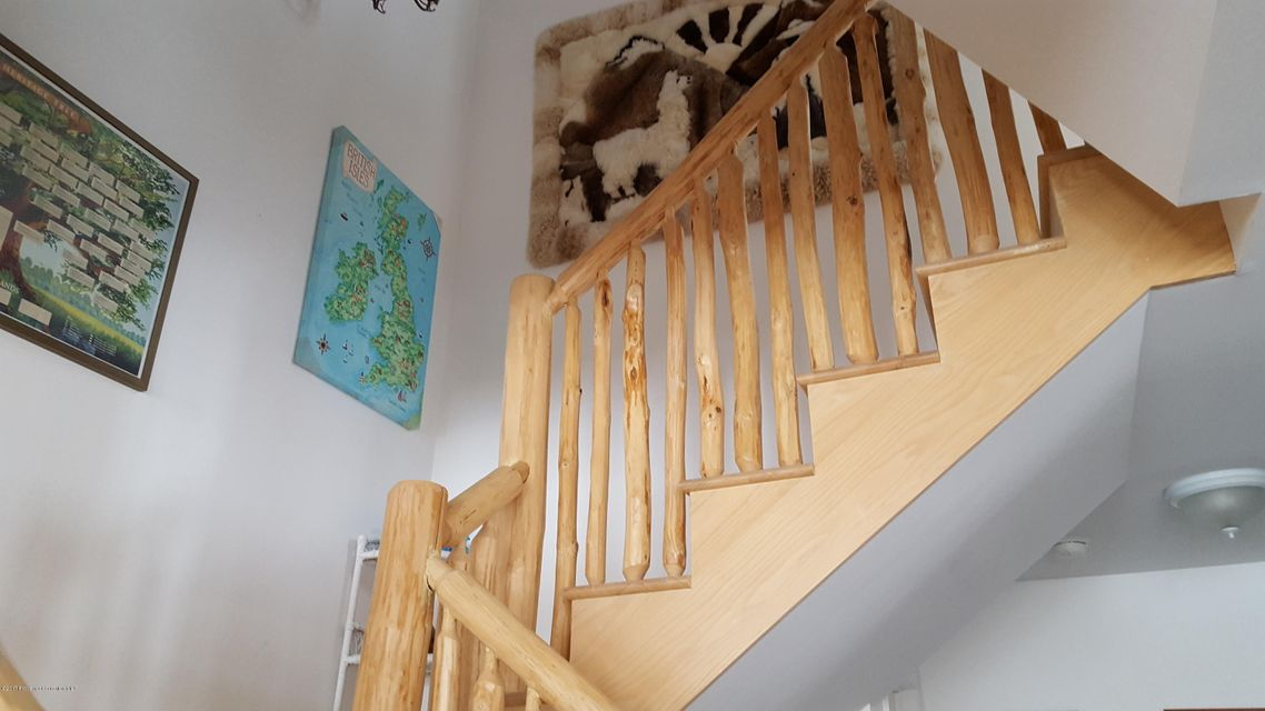 Hand-crafted staircase