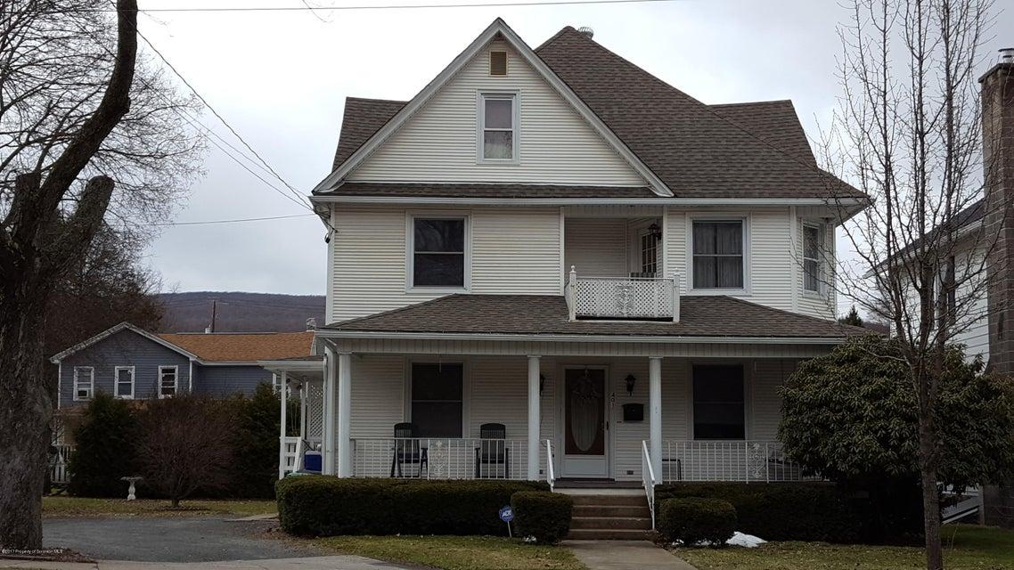 401 Washington Ave,Jermyn,Pennsylvania 18433,2 Rooms Rooms,Multi-family,Washington,17-1241