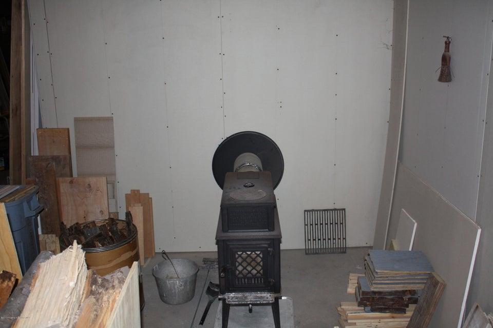 Wood Stove Basement