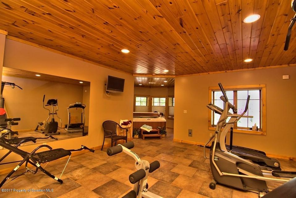 Lower Level Home Gym View 1