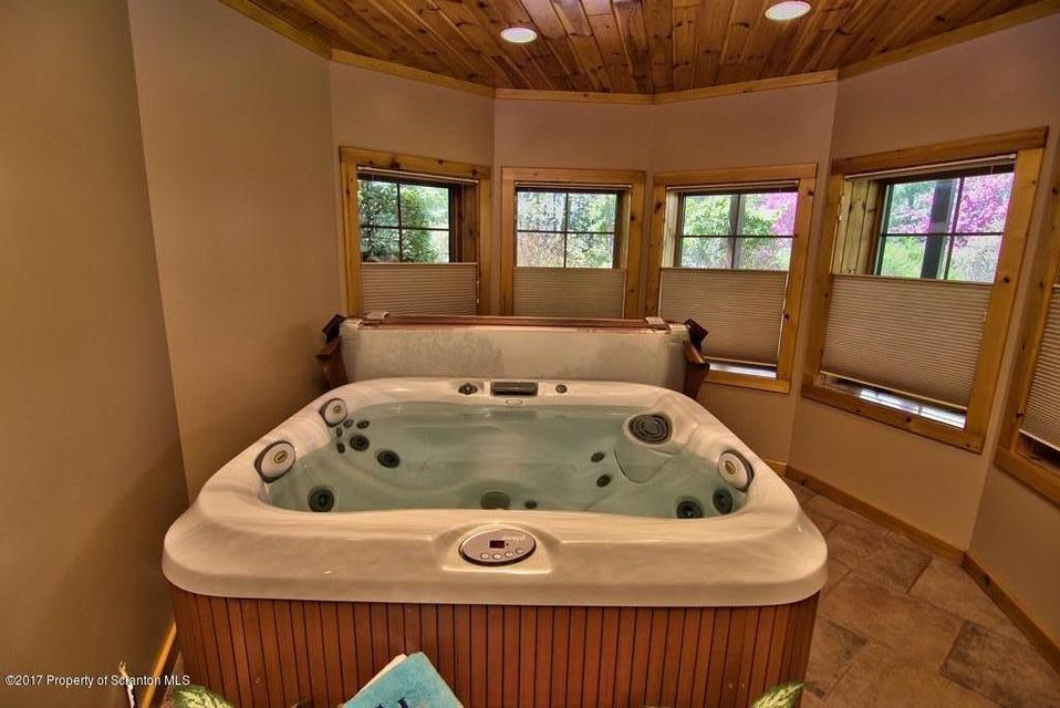 Lower Level Hot Tub Room