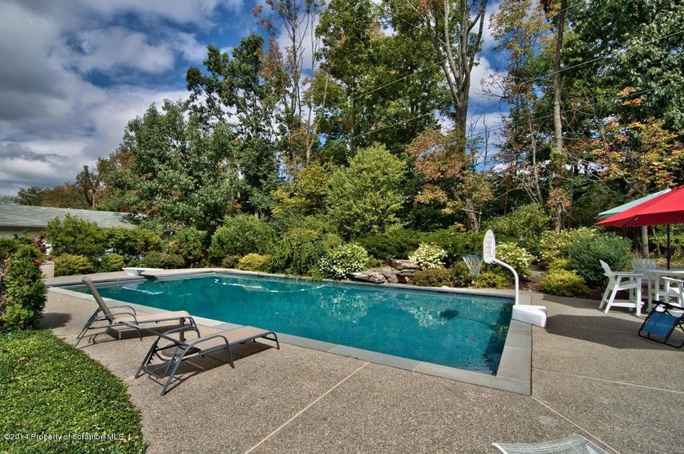 Pool Area / Waterfall
