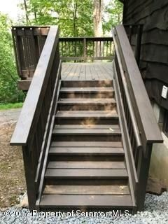 Steps to deck