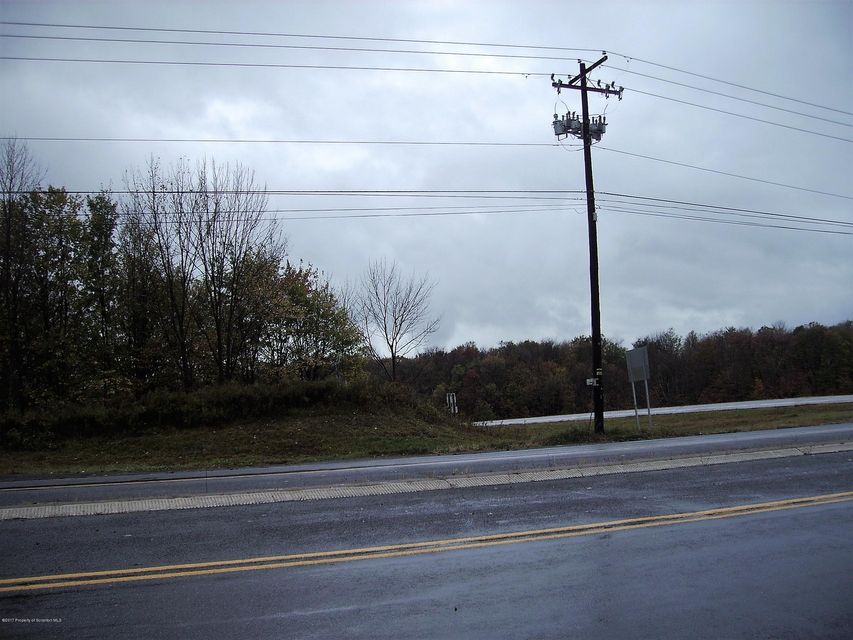 Land on RT 307, showing power lines