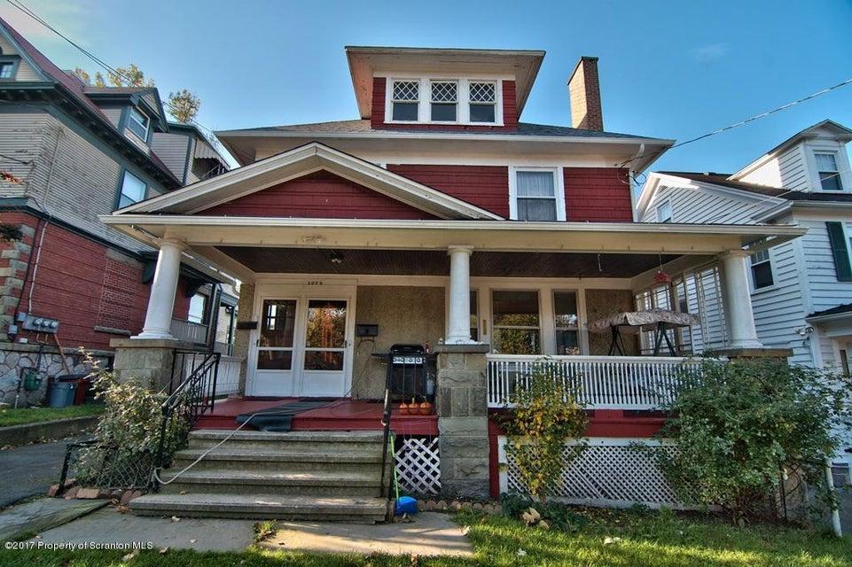 1020 Grandview St,Scranton,Pennsylvania 18509,2 Rooms Rooms,Multi-family,Grandview,17-4864