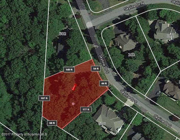 504 Skyline Dr,South Abington Twp,Pennsylvania 18411,Lot/land,Skyline,17-5256