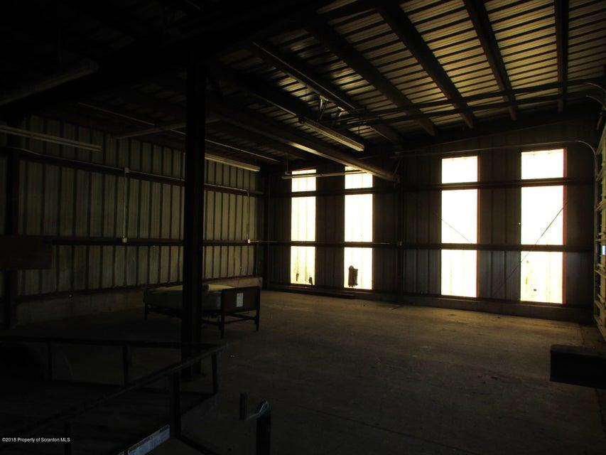 Inside buildings