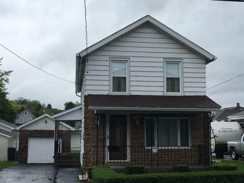 638 Sanderson St,Throop,Pennsylvania 18512,4 Bedrooms Bedrooms,7 Rooms Rooms,1 BathroomBathrooms,Residential,Sanderson,18-2217