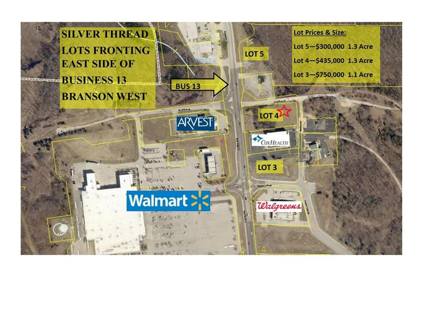 18490  Business 13 Branson West, MO 65737
