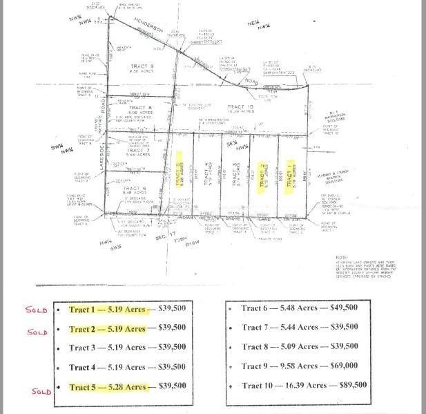 Henderson, Tract 10 Rogersville, MO 65742