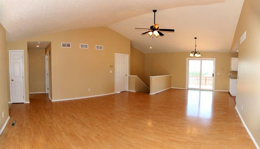 Foreclosure living room
