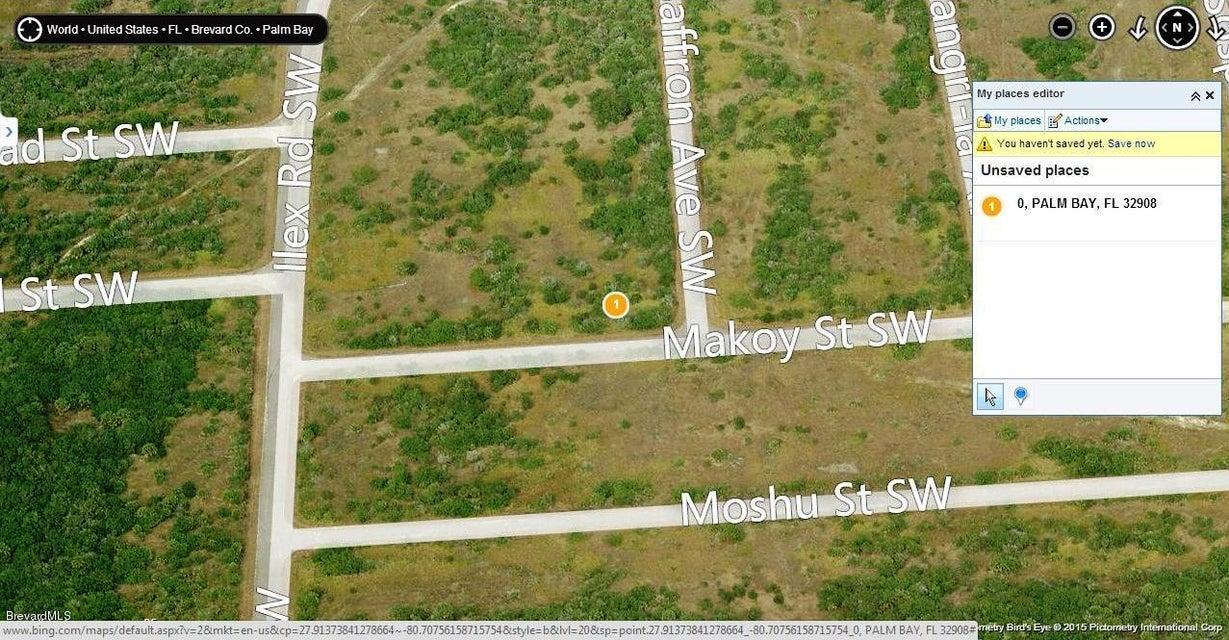 Land for Sale at Makow And Saffron Corner Palm Bay, Florida 32908 United States