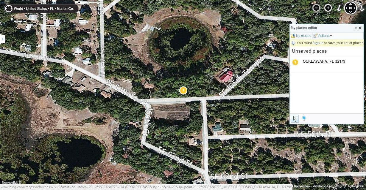 Land for Sale at Se 59th St. Ocklawaha Fl.32179 Se 59th St. Ocklawaha Fl.32179 Oklawaha, Florida 32179 United States