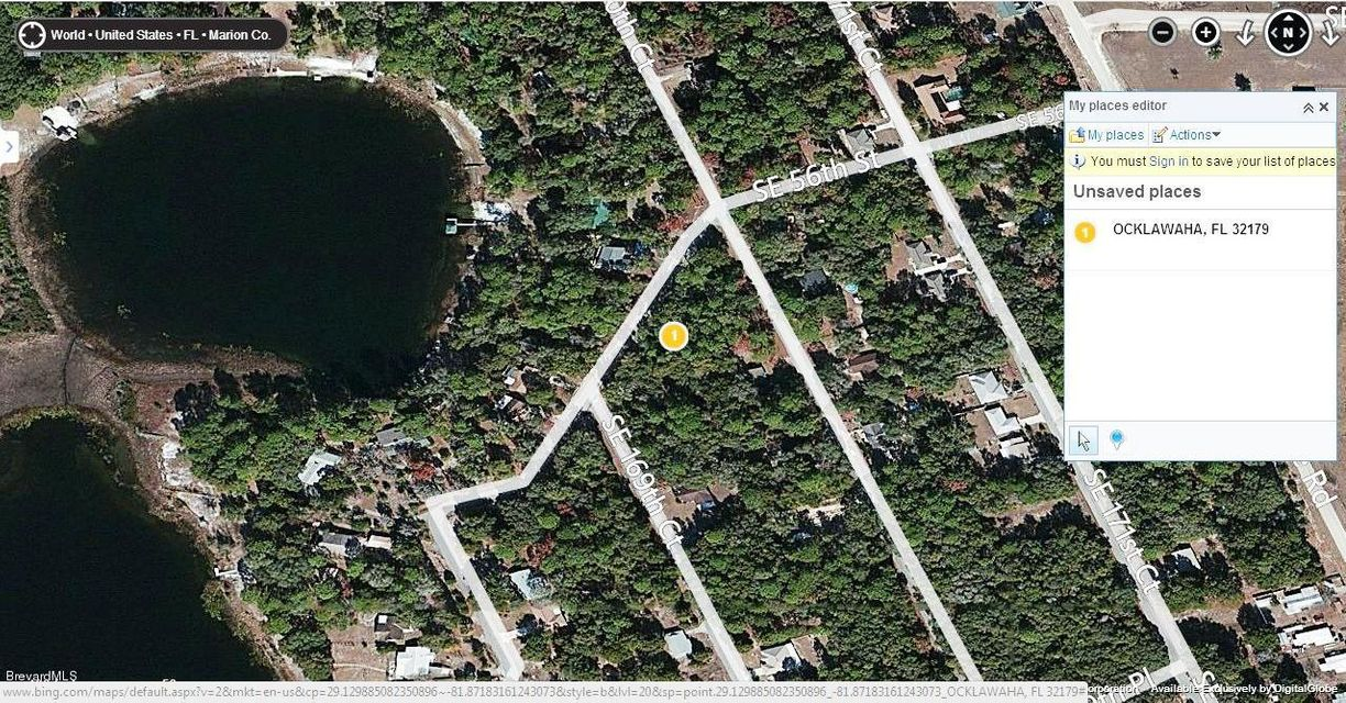 Land for Sale at Se 56th St, Ocklawaha Fl.32179 Oklawaha, Florida 32179 United States