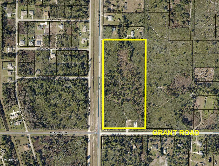 Land for Sale at 90 Grant 90 Grant Palm Bay, Florida 32909 United States