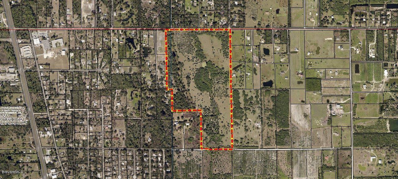 Terrain pour l Vente à Lionel Mims, Florida 32754 États-Unis