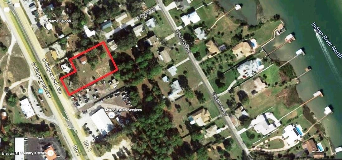 Land voor Verkoop een t 2021 S Ridgewood Edgewater, Florida 32141 Verenigde Staten