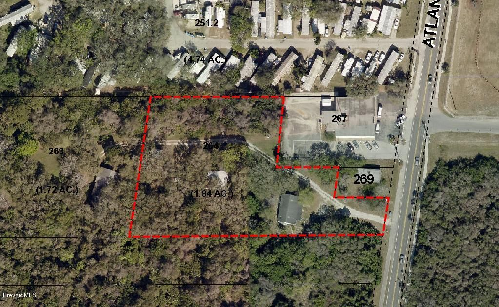 Land for Sale at 8893 N Atlantic 8893 N Atlantic Cape Canaveral, Florida 32920 United States