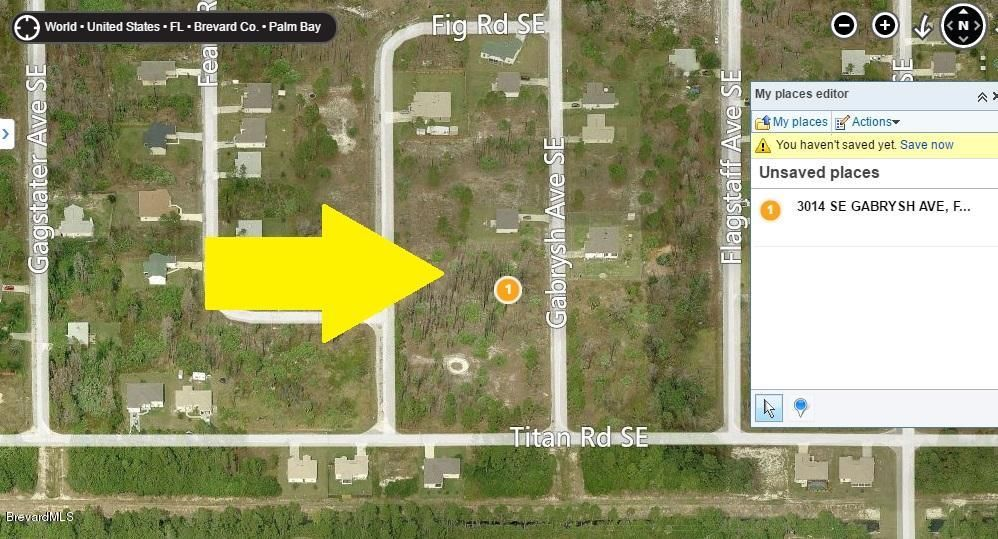 Land for Sale at 3014 Gabrysh Palm Bay, Florida 32909 United States