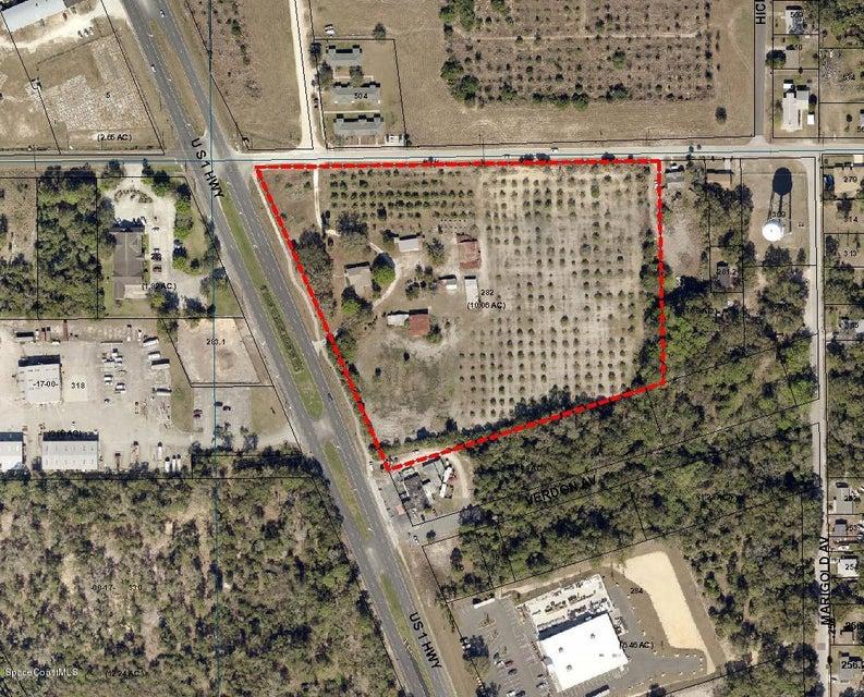Terrain pour l Vente à 2719 Highway 1 Mims, Florida 32754 États-Unis