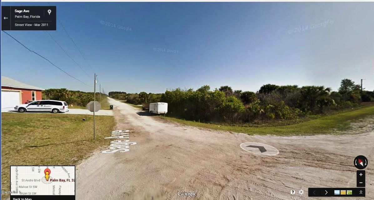 Land for Sale at SW St. Andre And Sage Corner SW St. Andre And Sage Corner Palm Bay, Florida 32908 United States
