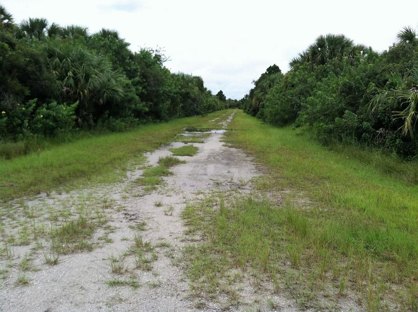 Looking to build now or in the future? This area of Palm Bay is sparsely populated but within a few miles of Bay Side Lakes business district and schools. Property is located on a dirt road currently not maintained by the city and is perfect for four wheelers.