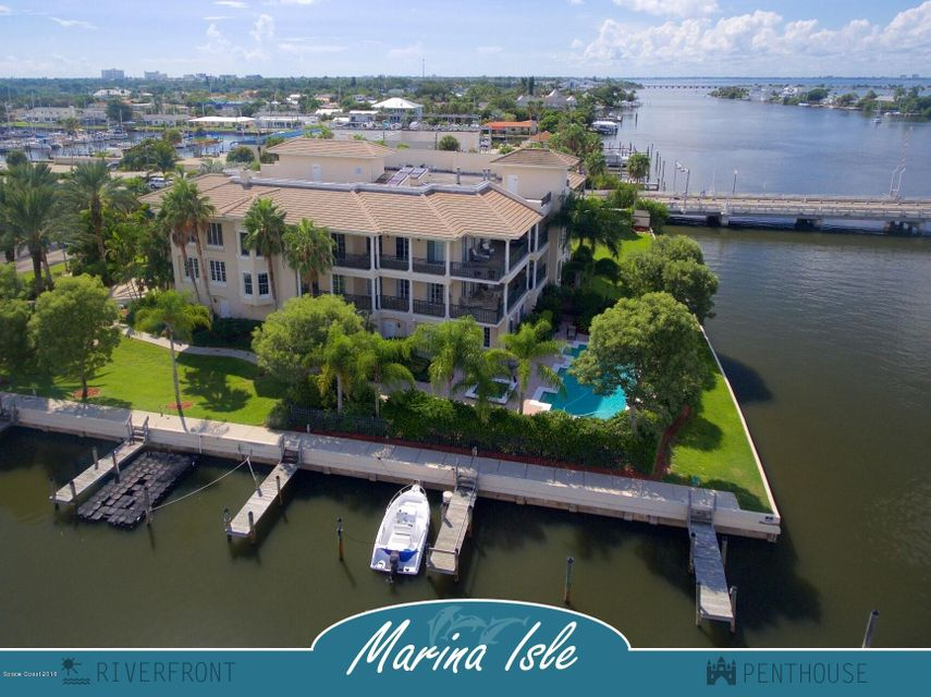 Кондоминиум для того Продажа на 4 Marina Isles Indian Harbour Beach, Флорида 32937 Соединенные Штаты