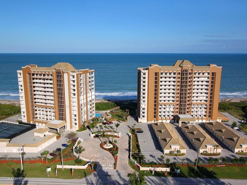 Oceanfront, 3br, 2.5ba, plus Den, 2330 SF, oceanfront balcony, private one car garage, wood cabinets, granite counters, stainless appliances, $498/month maintenance includes Water, Sewer, Trash, Insurance, Heated Pool, Heated Jacuzzi, Fitness Center, tennis courts, billiard room, social area with kitchen, direct beach access, sizes approx & subj. to error