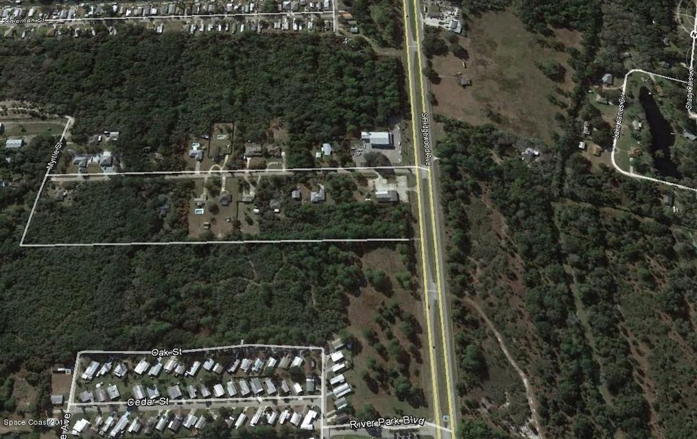 Land for Sale at S Ridgewood S Ridgewood Edgewater, Florida 32141 United States